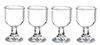 Dollhouse Miniature Glasses, 4 pc