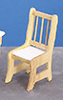 Dollhouse Miniature Kitchen Chair,  4 Pcs