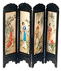 Dollhouse Miniature Chinese Screen, Woman