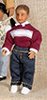 Dollhouse Miniature Andy Modern Hispanic Boy