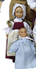 Dollhouse Miniature Colonial Mary Ann Phelps