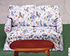 Dollhouse Miniature Loveseat