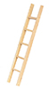 Dollhouse Miniature Straight Ladder, 6 In