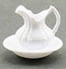 Dollhouse Miniature Pitcher And Bowl