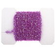 Tinsel Garland, Purple