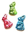 Set of 3 Foil Bunnies