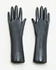 Black Rubber Gloves