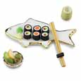Dollhouse Miniature Fish Sushi Set