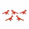 Dollhouse Miniature Micro-Mini Red Dragon 12Pc