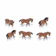 Dollhouse Miniature Micro-Mini Clydesdale 12Pc