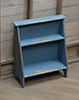 BUCKET BENCH, BLUE