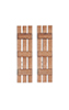Dollhouse Miniature SLATS SHUTTERS