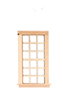 Dollhouse Miniature WINDOW - 9 OVER 9