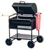 Dollhouse Miniature Barbeque Grill with Towel