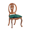 Dollhouse  Petite Paulinese Side Chair, Walnut