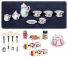Dollhouse Miniature Kitchen Accessories Set #2, 28pc