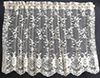 Dollhouse Miniature Curtains: Lace Picture Window, Ecru