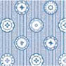 Dollhouse Miniature Wallpaper: China Blue