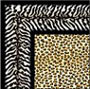 Dollhouse Miniature Rug: Leopard