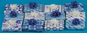 Dollhouse Miniature Set Of 12 Wrapped Gifts