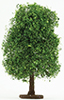 Dollhouse Miniature Bush: Variegated Green, Large 6 1/2