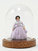 Dollhouse Miniature Figurine Under Glass Dome