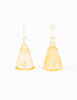 Dollhouse Miniature Dinner Bells, 2Pc, Amber