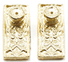Dollhouse Miniature Ornate Door Knobs, 4/Pk