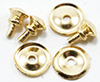 Dollhouse Miniature Traditional Round Doorknobs, 6/Pk