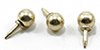 Dollhouse Miniature Rounded Drawer Pull, 6/Pk