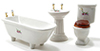 Dollhouse Miniature Bathroom Set/3