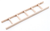 Dollhouse Miniature Straight Ladder, 6 Inch