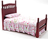 Single Bed, Mahogany