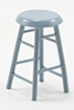 Bar Stool, 2 Inches, Gray