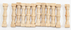 Dollhouse Miniature Spindles, 12/Pk
