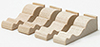 Dollhouse Miniature Small Brackets, 4Pk