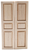 Dollhouse Miniature 3-Panel Shutter, 2/Pk