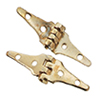 Dollhouse Miniature Triangle Hinges, 4/Pk