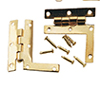 Dollhouse Miniature Hl Hinges W/Nails, 2/Pk