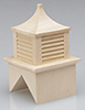 Dollhouse Miniature Cupola, Unfinished