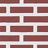 Dollhouse Miniature Pac Red Brick Sheet, 11 X 17
