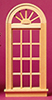 Dollhouse Miniature Playscale: Palladian Window