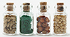 Dollhouse Miniature Spice Seed Jars 4/Pk