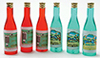 Dollhouse Miniature Wine Bottles 6/Pk