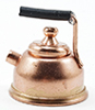 Dollhouse Miniature Copper Teapot, 1Pk