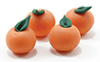 Dollhouse Miniature Oranges, 4/Pk