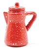 Dollhouse Miniature Red Pitcher