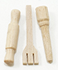 Dollhouse Miniature Wooden Kitchen Utensils