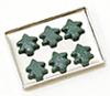 Dollhouse Miniature Christmas Cookies On Sheet, Assorted
