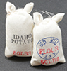 Dollhouse Miniature Food Sacks, 2/Pk